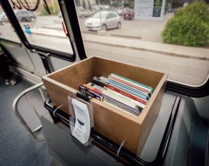 Banff Books on the Bus