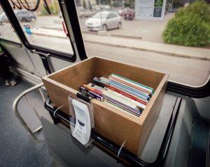 Banff Books on the Bus